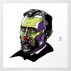 V. Van Gogh Art Print