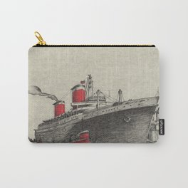 Steam Ship, New York Harbor Carry-All Pouch