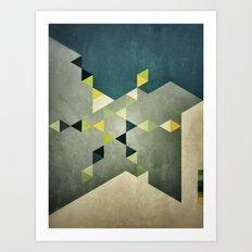 Shape_01 Art Print