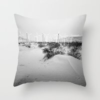 giants Throw Pillows featuring among giants by Bonnie Jakobsen-Martin
