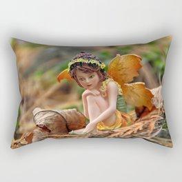 Autumn Fairy Rectangular Pillow