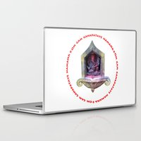 ganesha Laptop & iPad Skins featuring Ganesha by Janet Carpenter