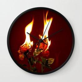 A Destructive Love Wall Clock