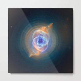 Cat's Eye Nebula Metal Print