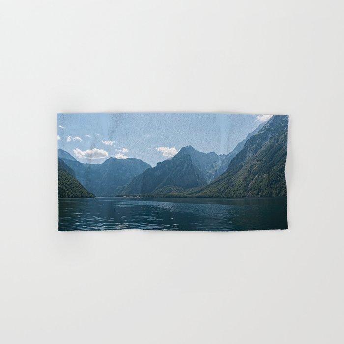 Bavaria - Koenigssee Lake Summer Alps Hand & Bath Towel