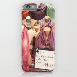 Nice Christmas Presents for Mum iPhone Case