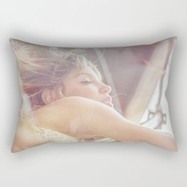 drive me somewhere nice... Rectangular Pillow