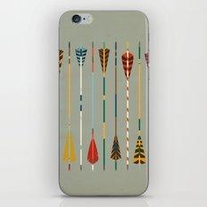 Vintage Arrows iPhone & iPod Skin