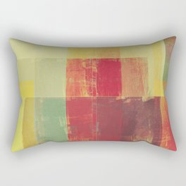 Abstract Geometry No. 22 Rectangular Pillow