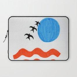 Blue Sunset Laptop Sleeve