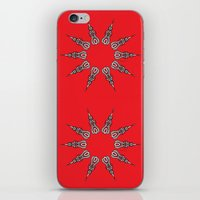 chakra iPhone & iPod Skins featuring Chakra by RaJess