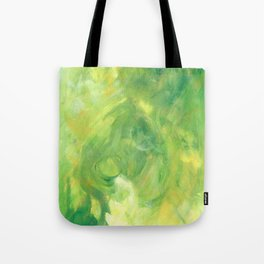 Green and Glow Tote Bag