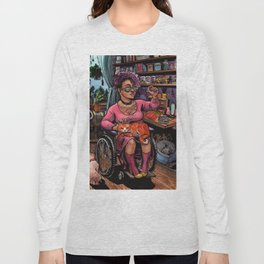 Cat Witch Long Sleeve T-shirt