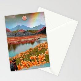 Rainbow gardens Stationery Cards