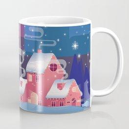 winter home. Happy new year Coffee Mug