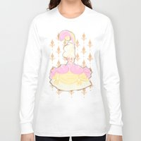 marie antoinette Long Sleeve T-shirts featuring Marie Antoinette  by Delucienne Maekerr