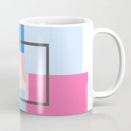 Fairy Floss Square Composition Coffee Mug