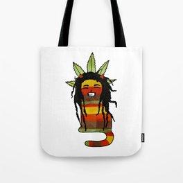 Jamaican Cat Tote Bag