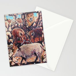 The Three Little Pigs Stationery Cards