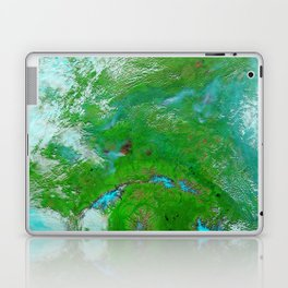 Hundreds of Thousands of Acres Burning in Interior Alaska Laptop & iPad Skin