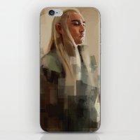 thranduil iPhone & iPod Skins featuring Thranduil by Wisesnail