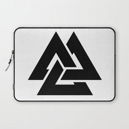 Valknut Martial Heathen symbols Laptop Sleeve