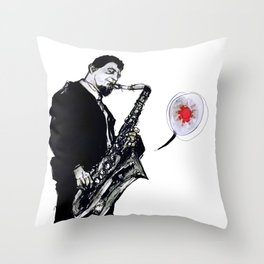 sonny rollins Throw Pillow
