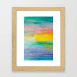Ocean Sunrise Series 2 Framed Art Print