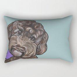 Maddie the Doodle Rectangular Pillow