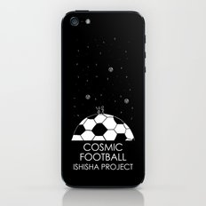 COSMIC FOOTBALL by ISHISHA PROJECT iPhone & iPod Skin
