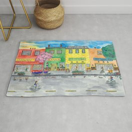 Happy Town Rug