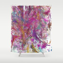 party party Shower Curtain