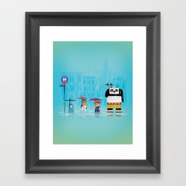 The Nick Yorkers in May Framed Art Print