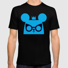 Louse Mouse MEDIUM Black Mens Fitted Tee