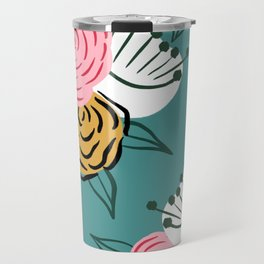 Modern florals Travel Mug