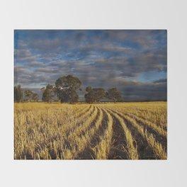 Golden Harvest Throw Blanket