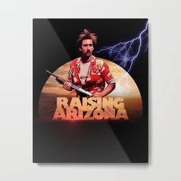 raising arizona Metal Print
