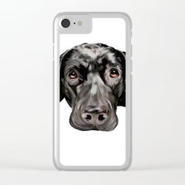 Waiting to Love Clear iPhone Case