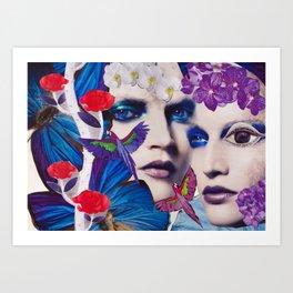 The Bluemood Art Print