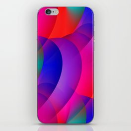 pattern and color -03- iPhone Skin