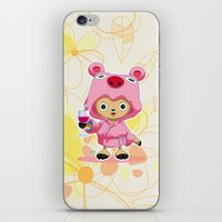 one piece iPhone & iPod Skins featuring One Piece: TonyTony Chopper by Neo Crystal Tokyo