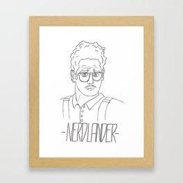 Nerdlander Framed Art Print