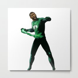 "Kyrie Boston Green Lantern Irving "" Uncle Drew Metal Print"