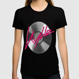 Kylie Minogue - record (silver) T-shirt
