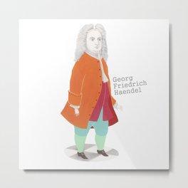 Georg Friedrich Haendel Metal Print