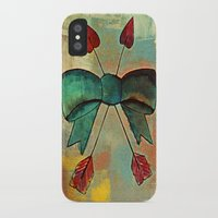 bow iPhone & iPod Cases featuring Bow by Kerri Swayze