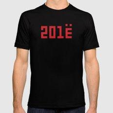 201Ё / New Year 2013 Black MEDIUM Mens Fitted Tee