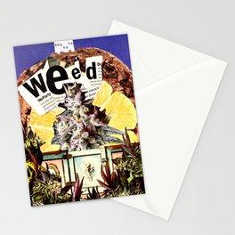 Guayoyo Weed - Handmade Collage Stationery Cards