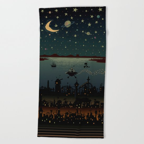 Visitor Beach Towel