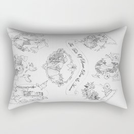 The Tale of Briar-Rose & Aurora Rectangular Pillow